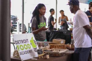 Detroit Food Academy Student