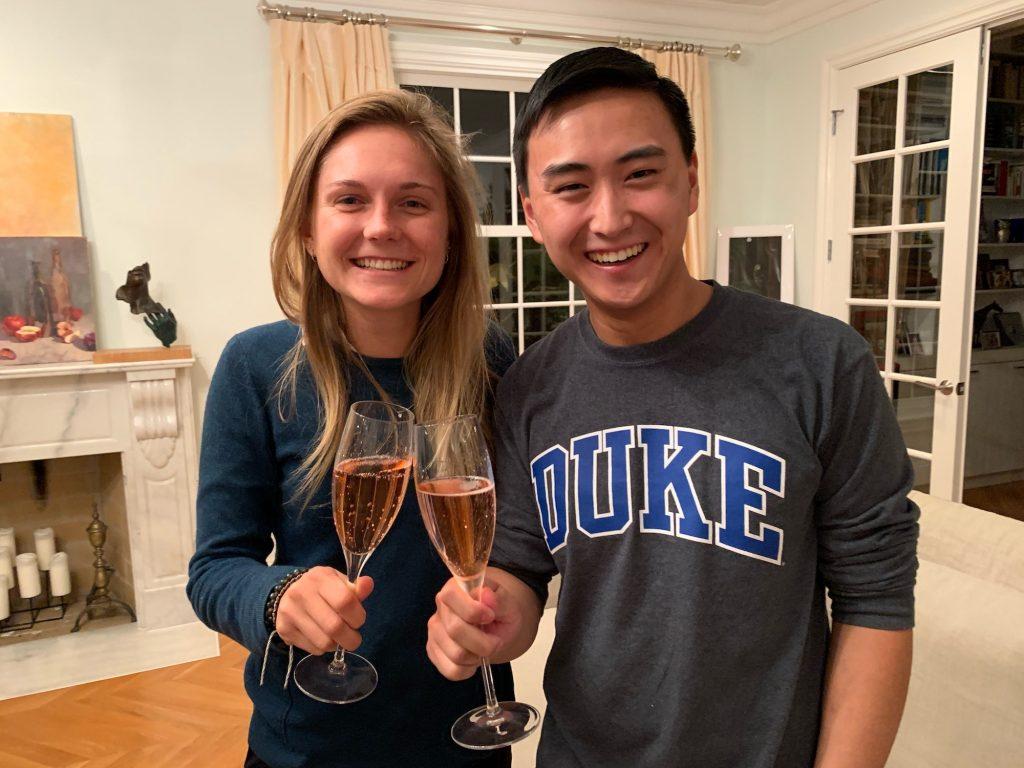 Glimpse Co-Founders Helena Merk and Brian Li